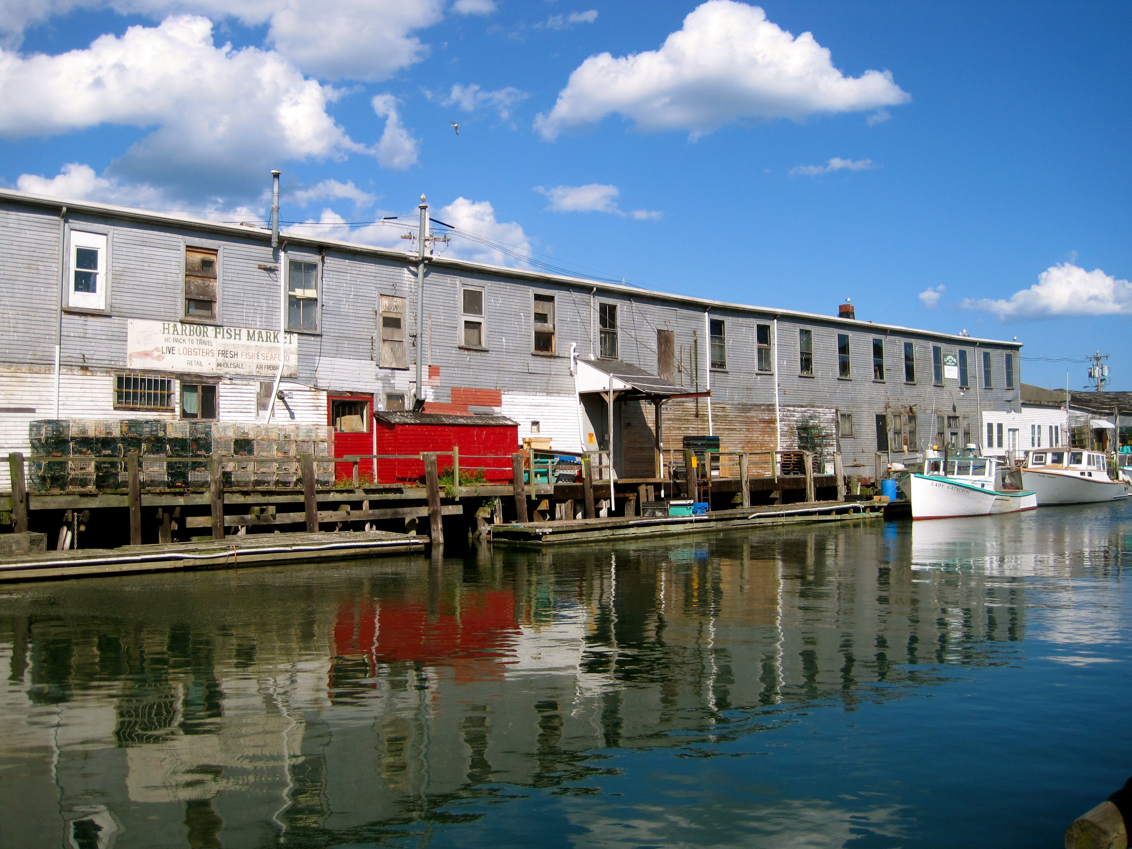 Northern exposure portland inspiration files for Harbor fish market portland maine